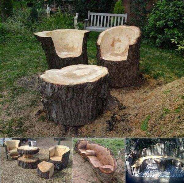 Of The Worlds Best Outside Seating Ideas Design By UpCycling - Outdoor diy projects