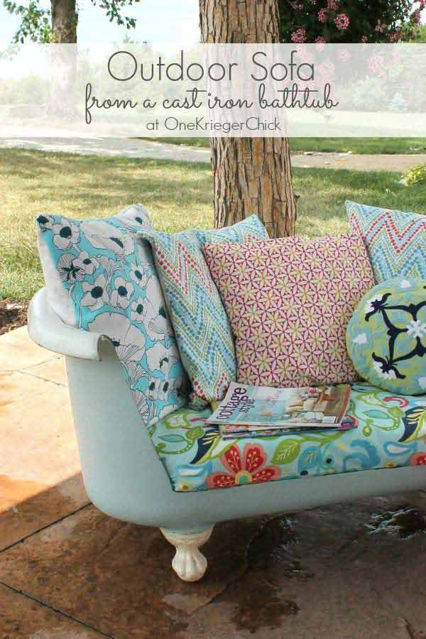 26 of The Worlds Best Outside Seating Ideas Design by Up-Cycling Items in DIY Projects homesthetics diy outdoor seating ideas (7)