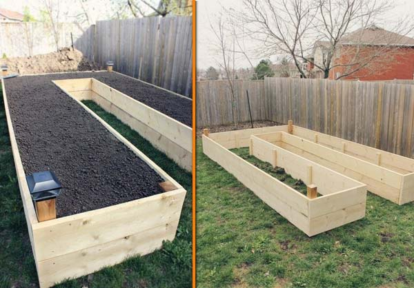 27+ DIY Garden Bed Edging Ideas Ready to Emphasize Your Greenery homesthetics backyard landscaping (11)