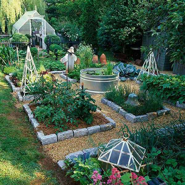 27+ DIY Garden Bed Edging Ideas Ready To Emphasize Your Greenery  Homesthetics Backyard Landscaping (