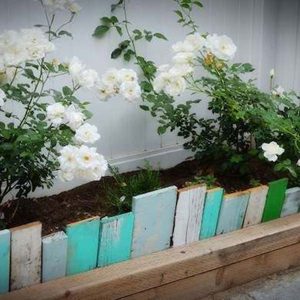 27+ DIY Garden Bed Edging Ideas Ready to Emphasize Your Greenery homesthetics backyard landscaping (3)