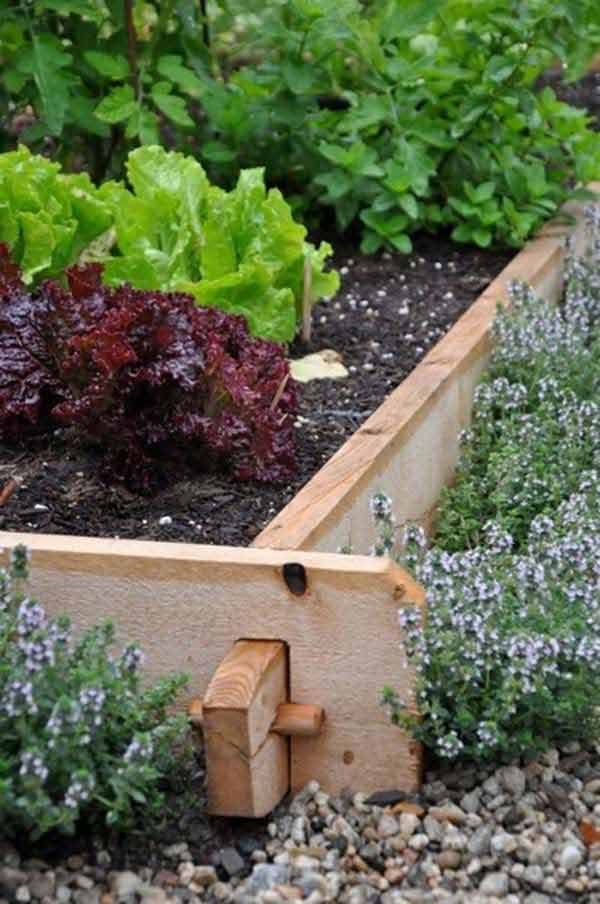 27 diy garden bed edging ideas ready to emphasize your for Garden sectioning ideas