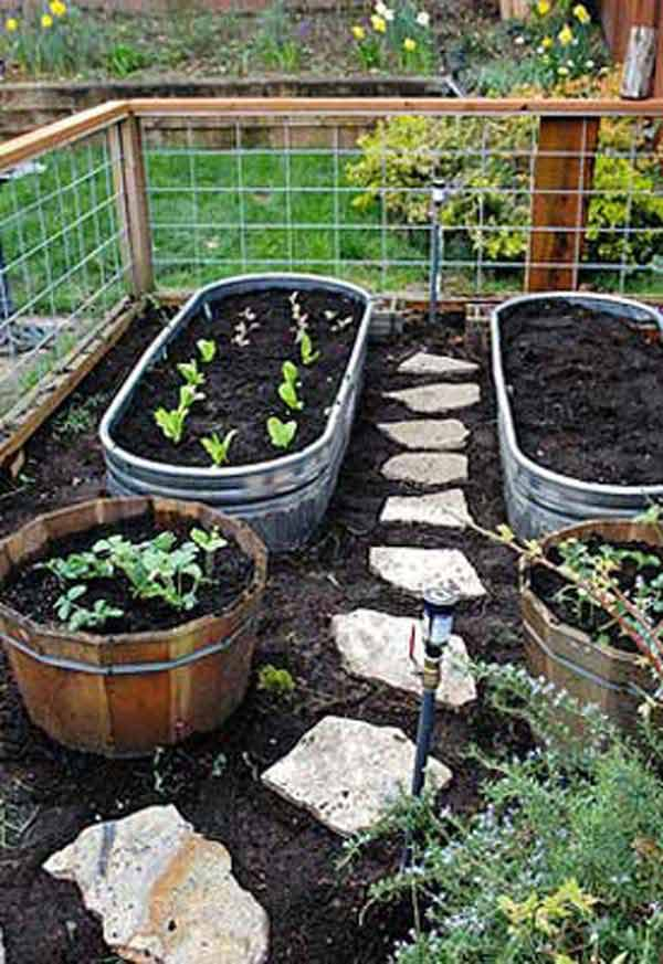 27+ DIY Garden Bed Edging Ideas Ready to Emphasize Your ... on Backyard Border Ideas id=60938