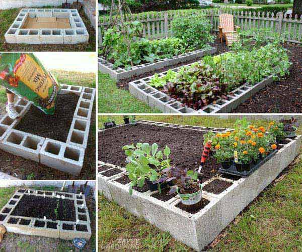 27 Diy Garden Bed Edging Ideas Ready To Emphasize Your