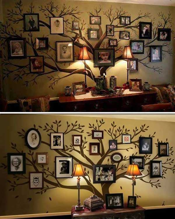 27 Extraordinarily Beautiful Ways to Decorate Your Blank Walls With DIY Projects homesthetics decor (11)