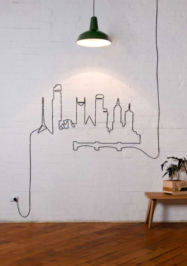 27 Extraordinarily Beautiful Ways to Decorate Your Blank Walls With DIY Projects homesthetics decor (14)