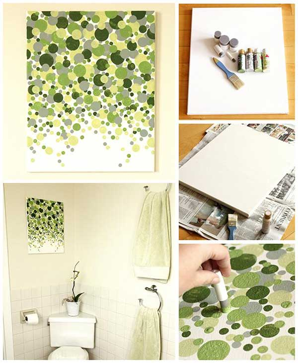 27 Extraordinarily Beautiful Ways to Decorate Your Blank Walls With DIY Projects homesthetics decor (15)