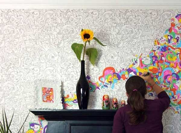 27 Extraordinarily Beautiful Ways to Decorate Your Blank Walls With DIY Projects homesthetics decor (3)