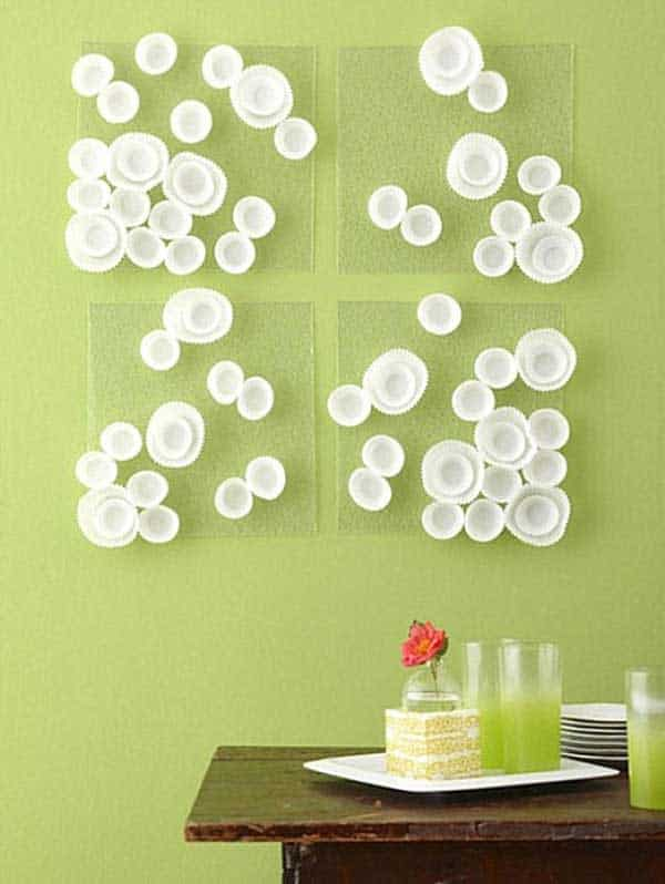 27 Extraordinarily Beautiful Ways to Decorate Your Blank Walls With DIY Projects homesthetics decor (4)