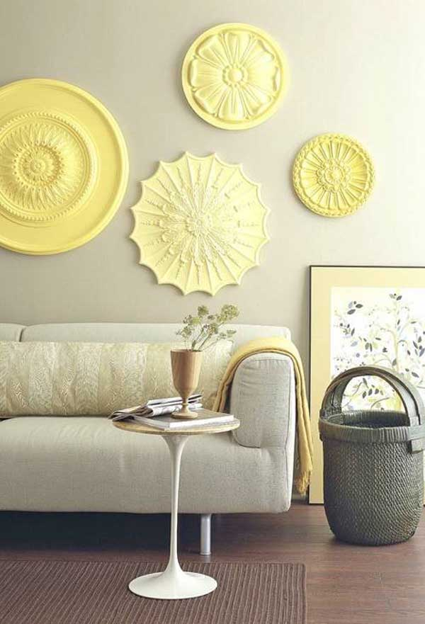 27 Extraordinarily Beautiful Ways to Decorate Your Blank Walls With DIY Projects homesthetics decor (6)