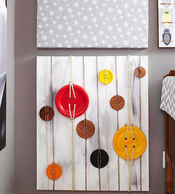 27 Extraordinarily Beautiful Ways to Decorate Your Blank Walls With DIY Projects homesthetics decor (7)