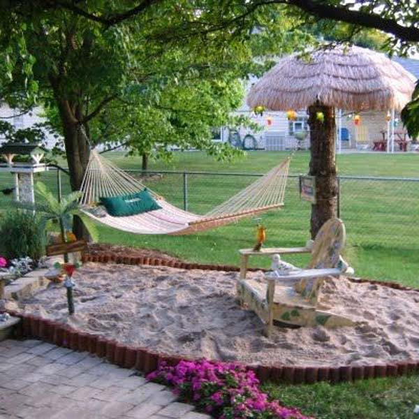 Fun And Airy BeachStyle Outdoor Living Design Ideas For Your - Backyard fun ideas
