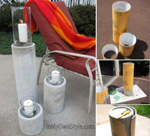 28 Highly Creative DIY Concrete Projects For Your Household homesthetics concrete crafts (12)