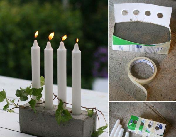 28 Highly Creative DIY Concrete Projects For Your Household homesthetics concrete crafts (14)