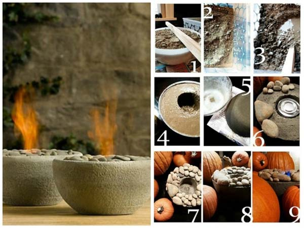 28 Highly Creative DIY Concrete Projects For Your Household homesthetics concrete crafts (9)