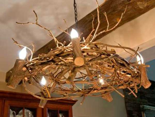 30 Sculptural DIY Tree Branch Chandeliers to Realize In an Unforgettable Setup homesthetics decor (11)