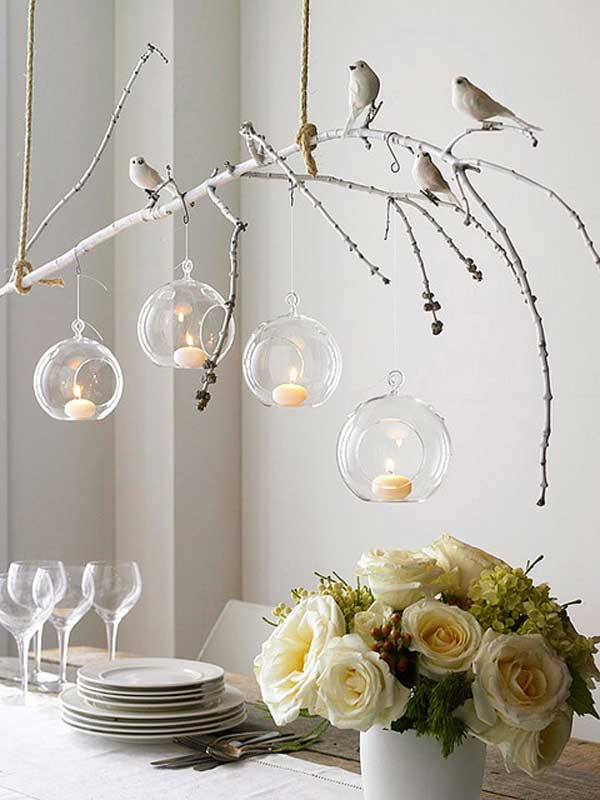 30 Sculptural DIY Tree Branch Chandeliers to Realize In an Unforgettable Setup homesthetics decor (12)