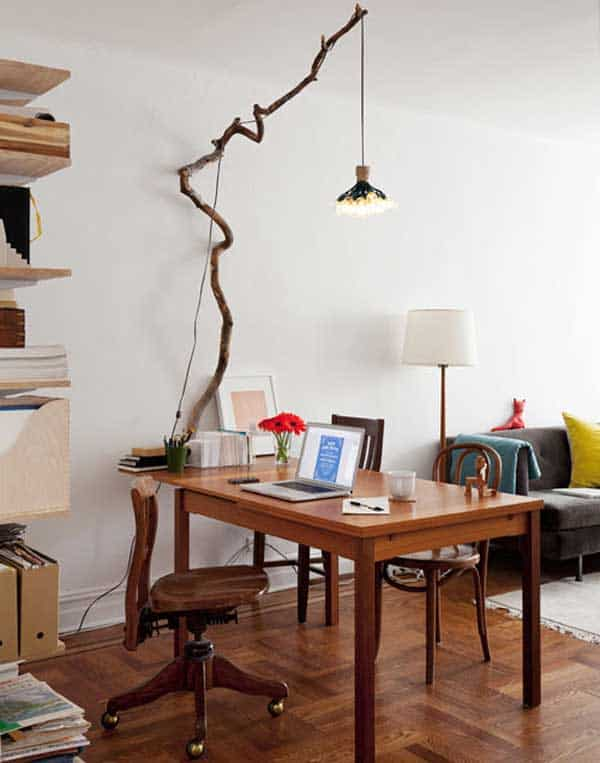 30 Sculptural DIY Tree Branch Chandeliers to Realize In an Unforgettable Setup homesthetics decor (21)