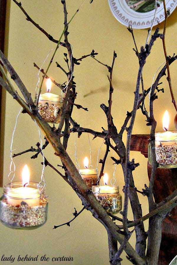 30 Sculptural DIY Tree Twigs Chandeliers to Realize In an Unforgettable Setup homesthetics decor