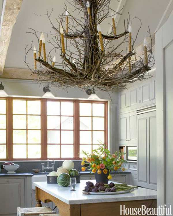 30 Sculptural DIY Tree Branch Chandeliers to Realize In an Unforgettable Setup homesthetics decor (7)