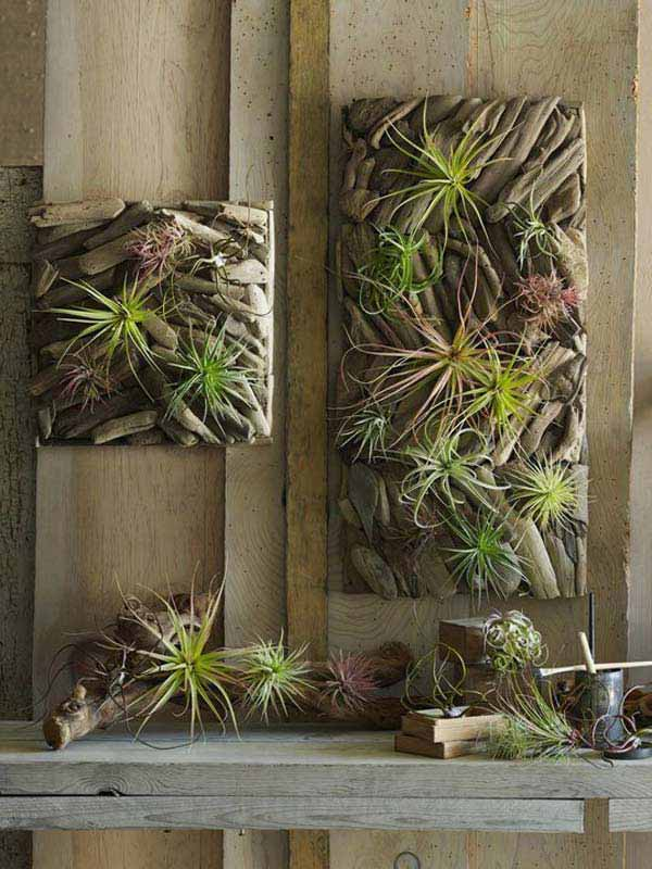 30 sensible diy driftwood decor ideas that will transform for Decoration de bois flotte