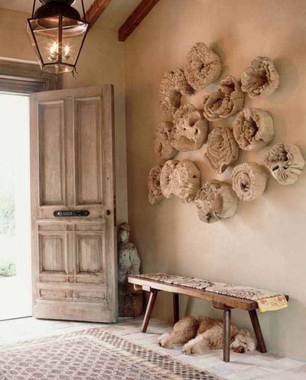 Good Unique Wall Decor Ideas Home Part - 13: 30 Sensible DIY Driftwood Decor Ideas That Will Transform Your Home  Homesthetics Driftwood Crafts (25