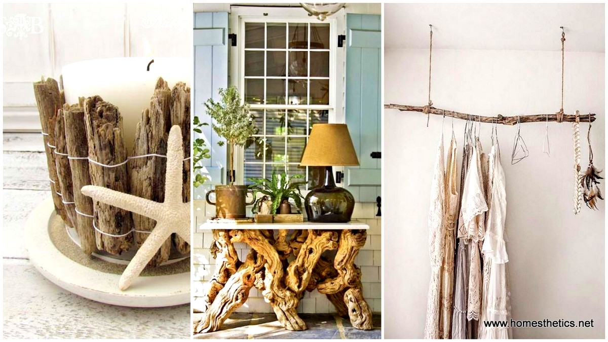 30 sensible diy driftwood decor ideas that will transform for Wooden art home decorations
