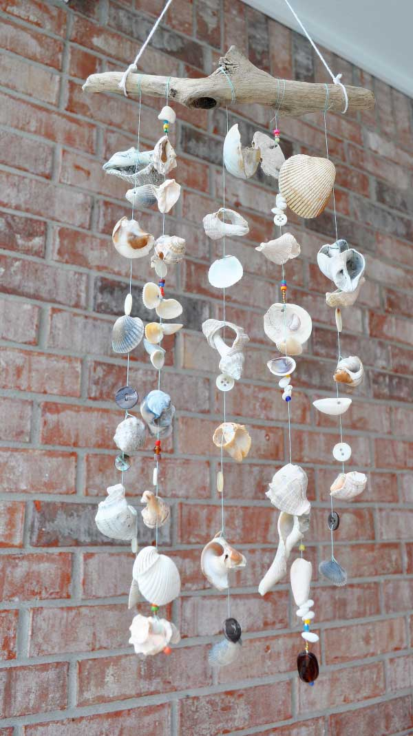 30 Simple and Beautiful DIY Wind Chimes Ideas to Materialize This Summer homesthetics decor (1)