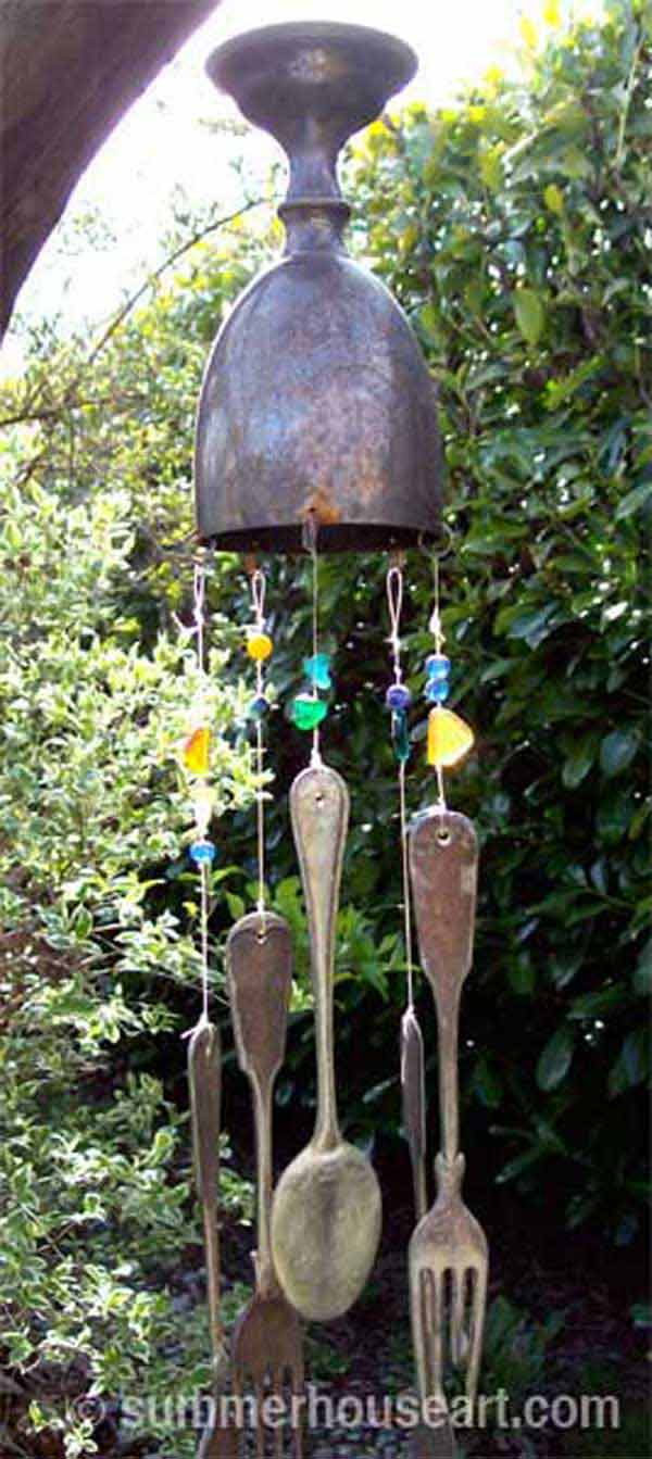 30 Simple and Beautiful DIY Wind Chimes Ideas to Materialize This Summer homesthetics decor (12)