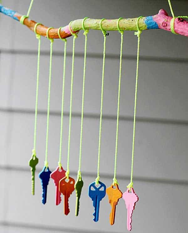 30 Simple and Beautiful DIY Wind Chimes Ideas to Materialize This Summer homesthetics decor (15)