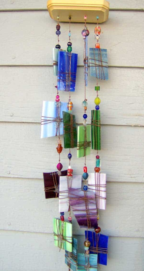 30 simple and beautiful diy wind chimes ideas to for Easy to make wind chimes
