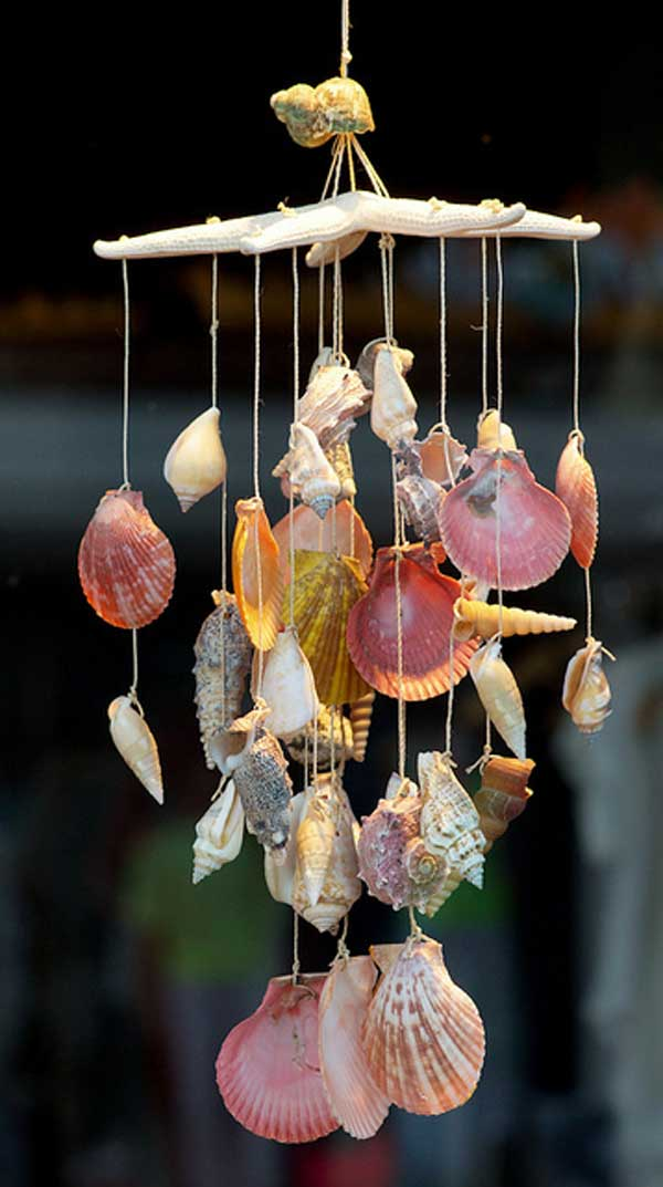 30 Simple and Beautiful DIY Wind Chimes Ideas to Materialize This Summer homesthetics decor (19)