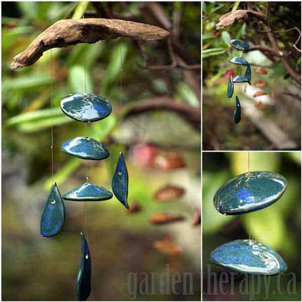 30 Simple and Beautiful DIY Wind Chimes Ideas to Materialize This Summer homesthetics decor (3)
