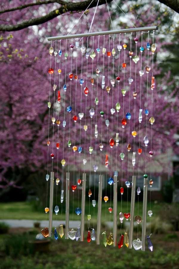 30 Simple and Beautiful DIY Wind Chimes Ideas to Materialize This Summer homesthetics decor (7)