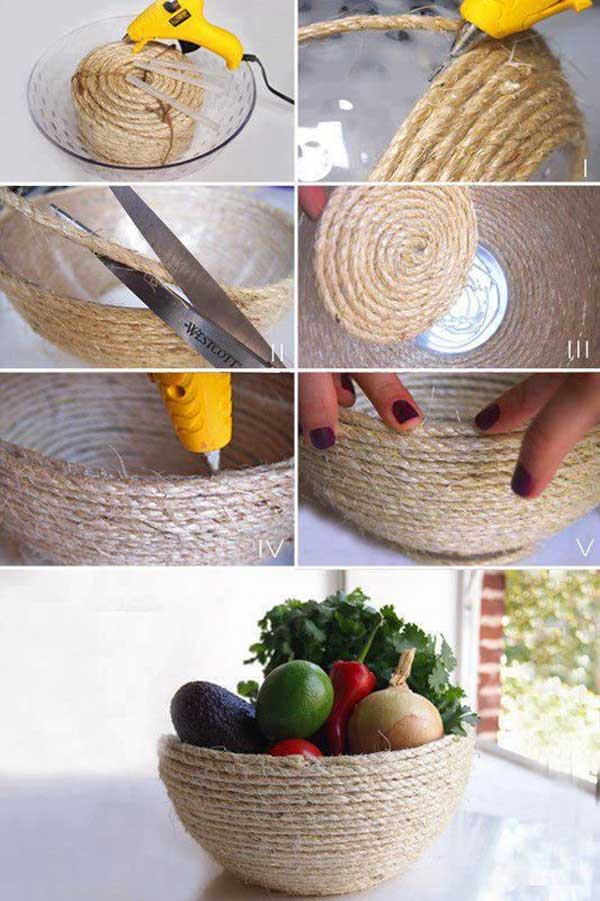 34 Airy and Breezy DIY Rope Projects for Nautical Inspired Themes homesthetics (28)