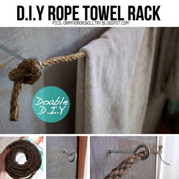 34 Airy and Breezy DIY Rope Projects for Nautical Inspired Themes homesthetics (30)