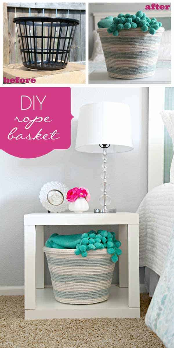 34 Airy and Breezy DIY Rope Projects for Nautical Inspired Themes homesthetics (32)