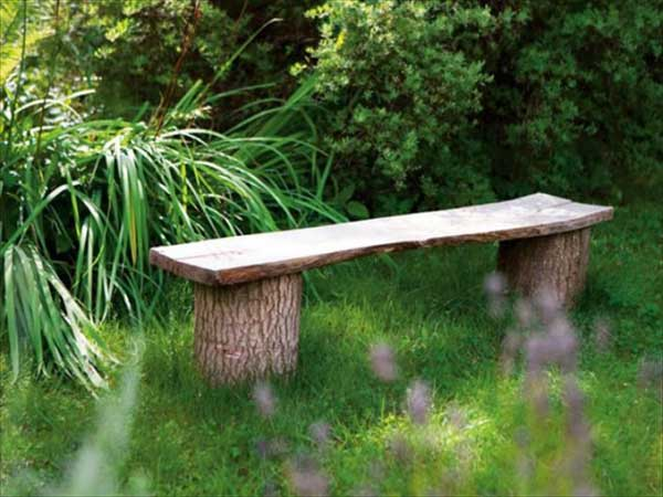 35 Beautiful Garden Benches Projects To Realize This Summer and Emphasize Greenery  homesthetics landscaping (11)