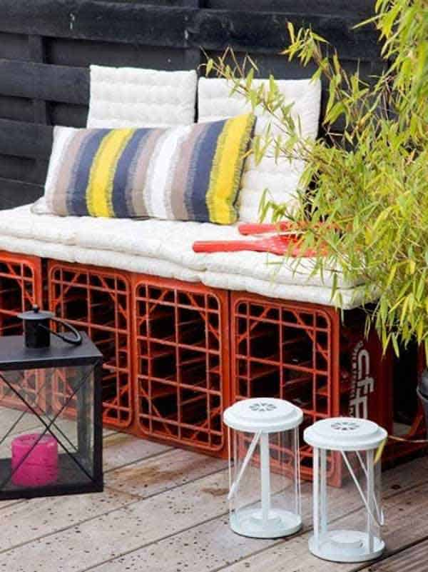 35 Beautiful Garden Benches Projects To Realize This Summer and Emphasize Greenery  homesthetics landscaping (12)