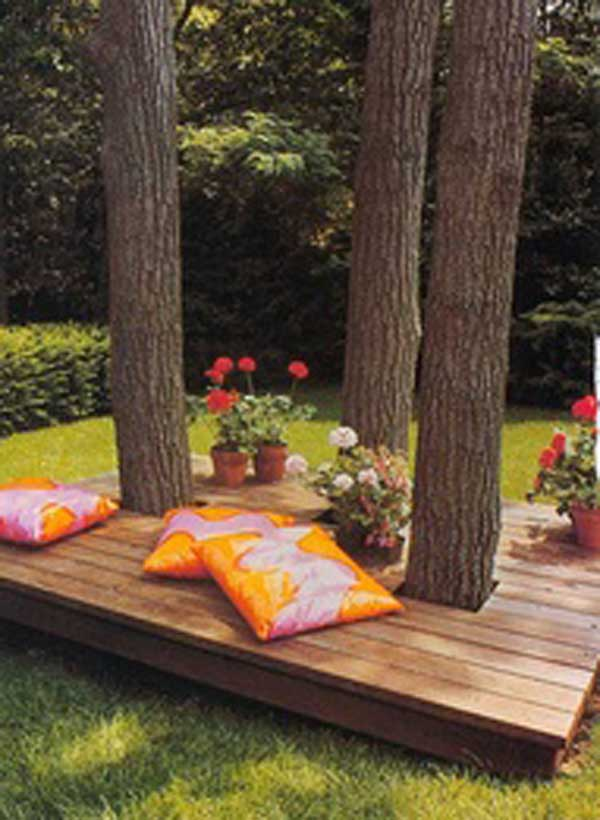 35 Beautiful Garden Benches Projects To Realize This Summer and Emphasize Greenery  homesthetics landscaping (15)