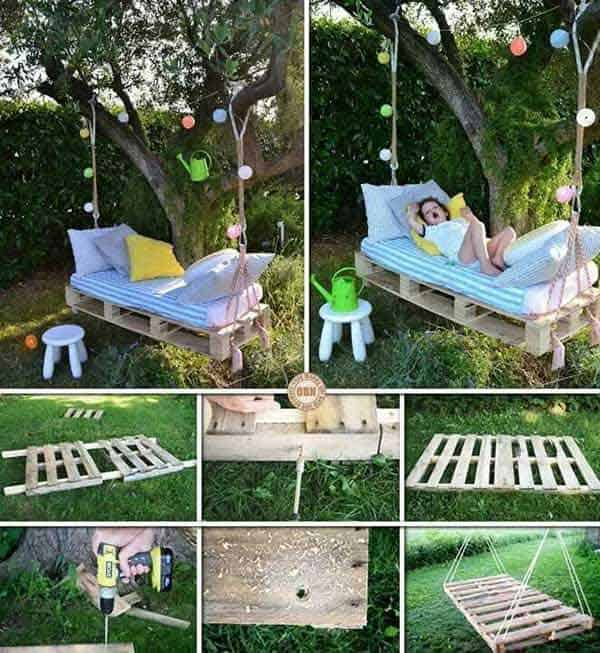 35 Beautiful Garden Benches Projects To Realize This Summer and Emphasize Greenery  homesthetics landscaping (5)