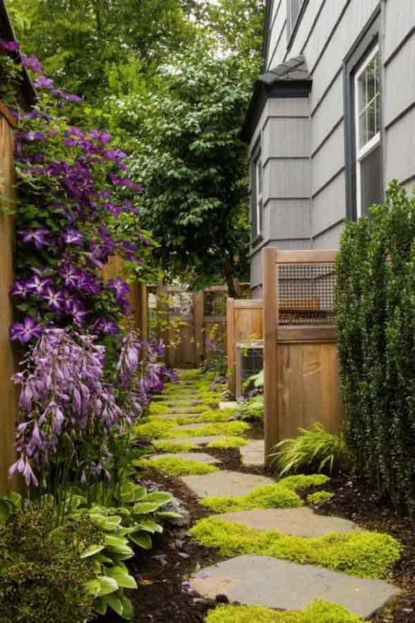 41 Ingenious and Beautiful DIY Garden Path Ideas To Realize in Your Backyard homesthetics backyard landscaping (11)