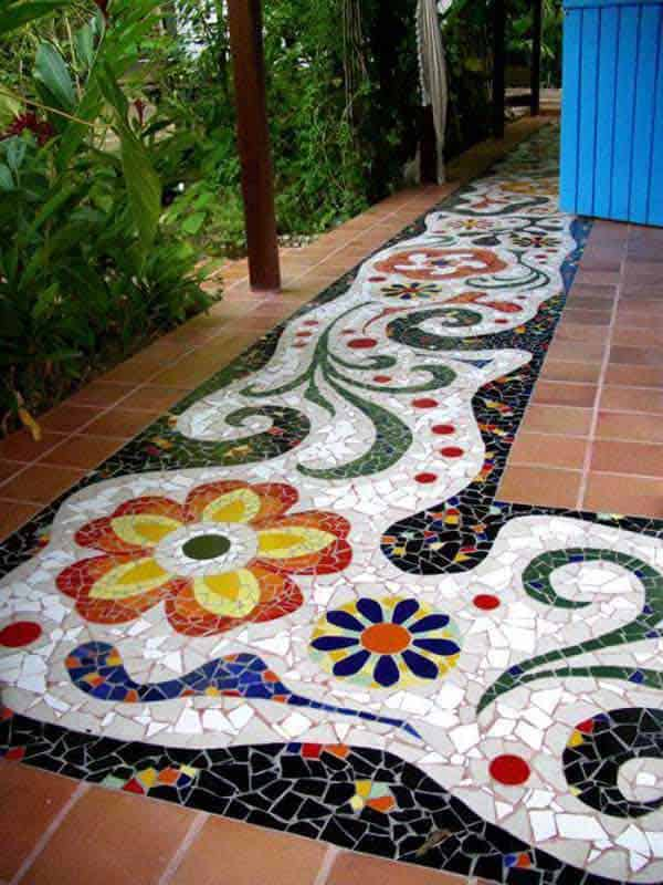 41 Ingenious and Beautiful DIY Garden Path Ideas To Realize in Your Backyard homesthetics backyard landscaping (13)