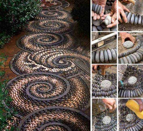 41 Ingenious and Beautiful DIY Garden Path Ideas To Realize in Your Backyard homesthetics backyard landscaping (16)