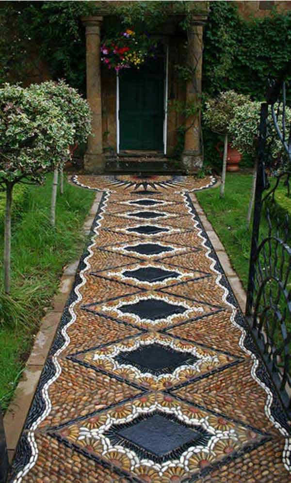 41 Ingenious and Beautiful DIY Garden Path Ideas To Realize in ...