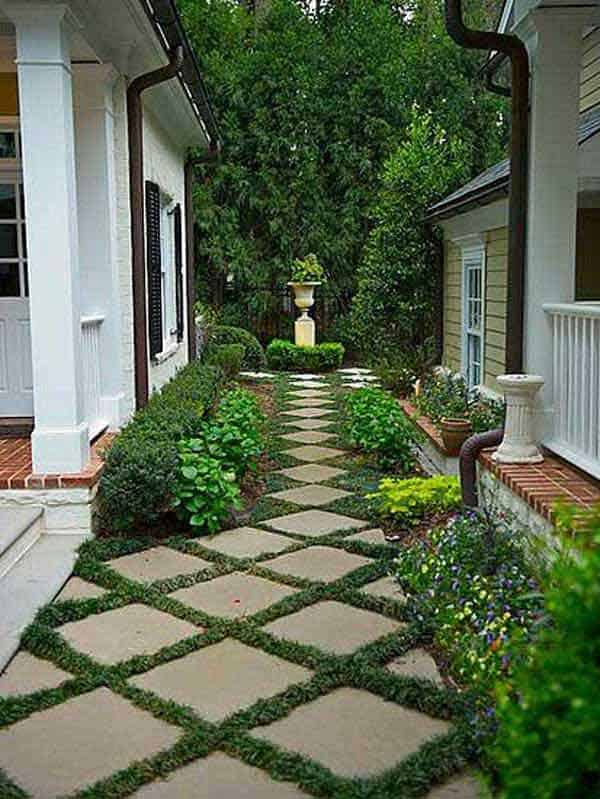 Garden Walkway Ideas Part - 21: 41 Ingenious And Beautiful DIY Garden Path Ideas To Realize In Your  Backyard Homesthetics Backyard Landscaping