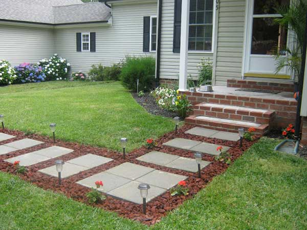 Etonnant 41 Ingenious And Beautiful DIY Garden Path Ideas To Realize In Your  Backyard Homesthetics Backyard Landscaping