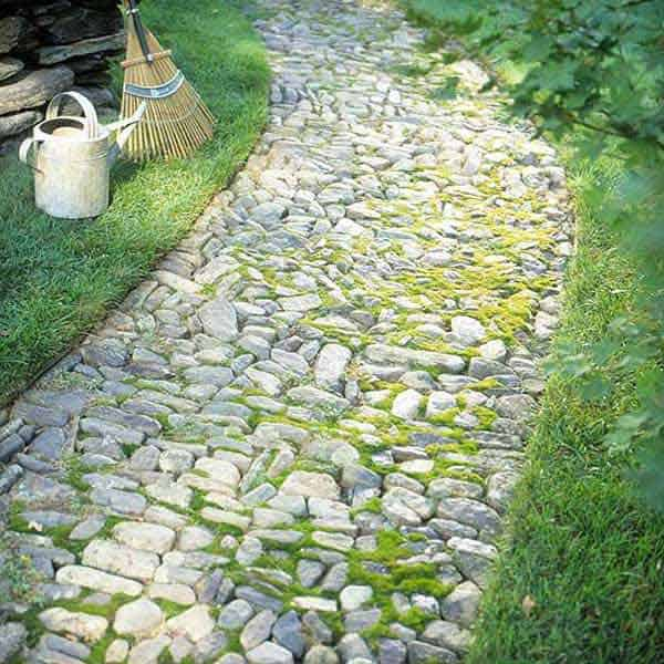 Charmant 41 Ingenious And Beautiful DIY Garden Path Ideas To Realize In Your  Backyard Homesthetics Backyard Landscaping