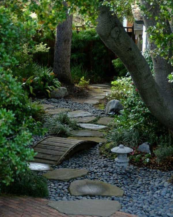 41 Ingenious and Beautiful DIY Garden Path Ideas To Realize in Your on diy landscaping ideas pathway, diy garden bed drain, diy dry creek rock,
