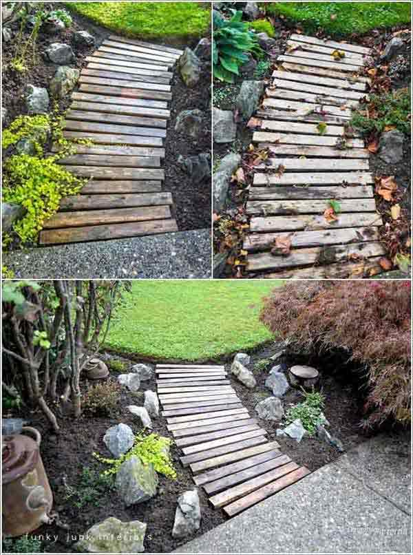 41 Ingenious and Beautiful DIY Garden Path Ideas To Realize in Your Backyard homesthetics backyard landscaping (35)